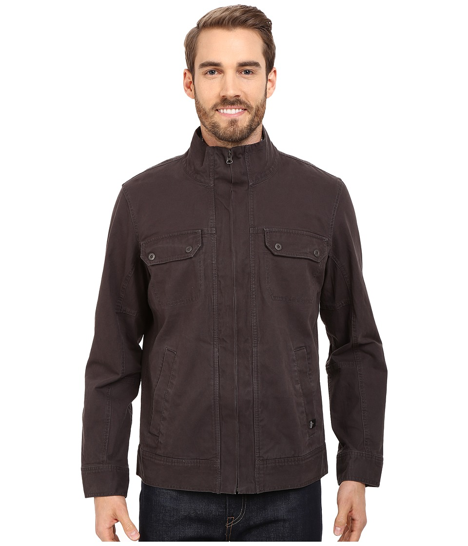 Prana Apperson Shell Jacket (Charcoal) Men
