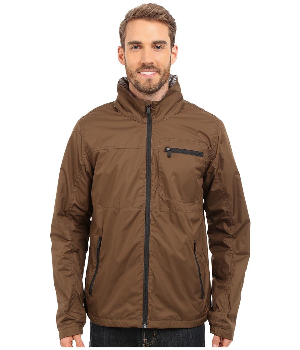 Prana - Roaming Jacket (Brown) Men's Coat