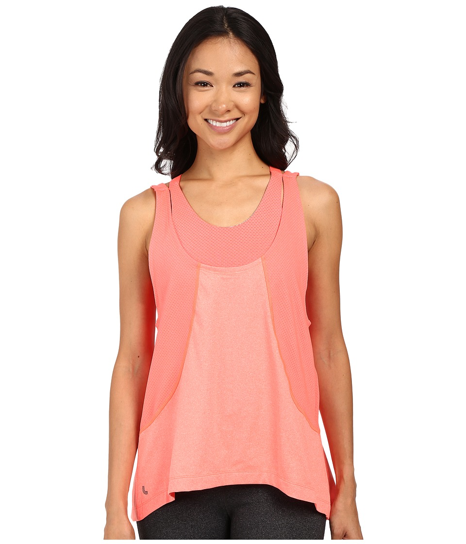 Lole - Faylinn Tank Top (Fiery Coral Mix) Women's Sleeveless