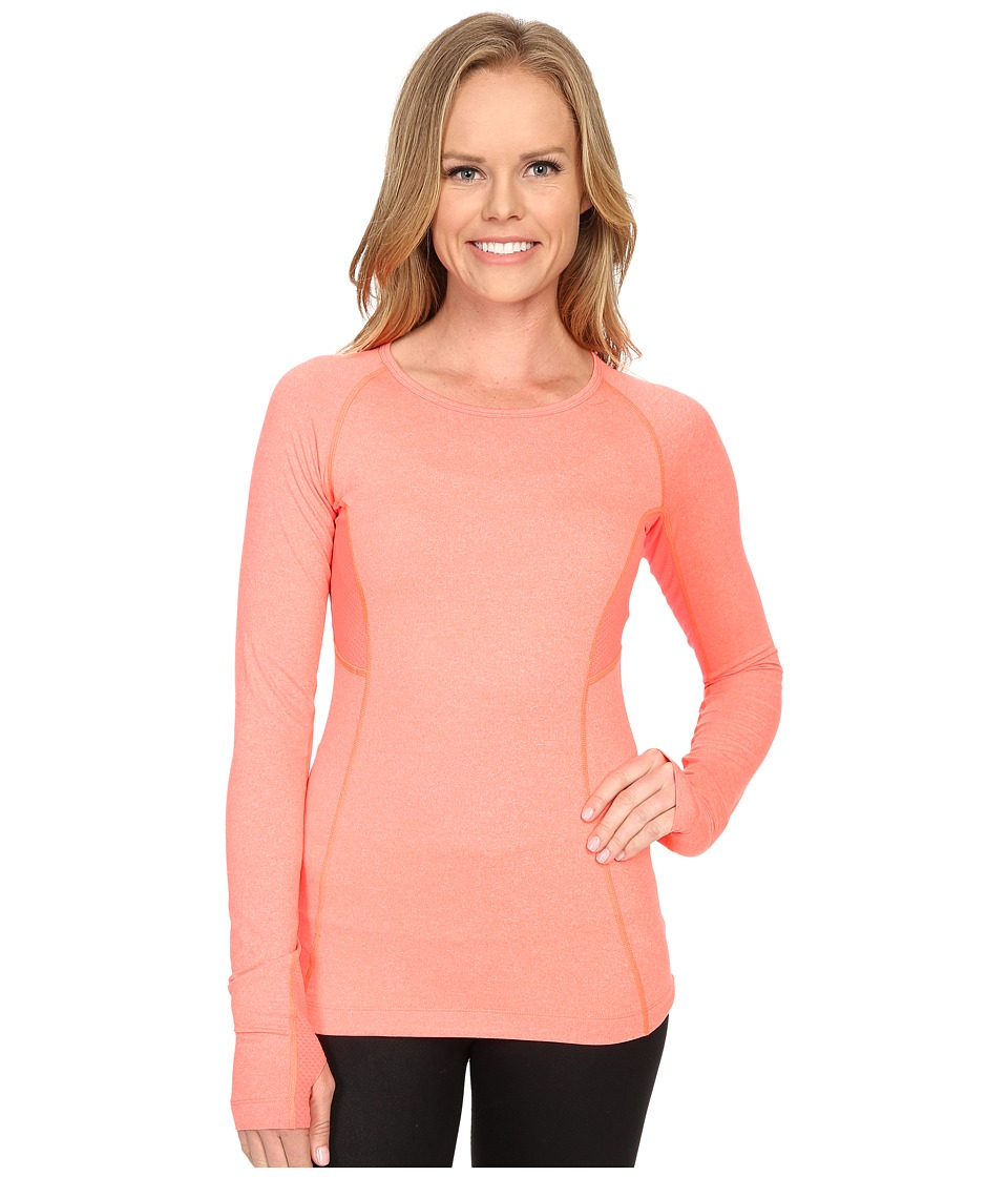 Lole - Lynn Top (Fiery Coral Mix) Women's Clothing