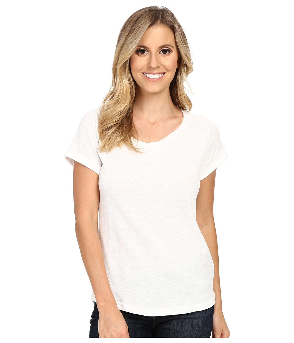 Ariat - Inwood Top (Snow White) Women's Short Sleeve Pullover