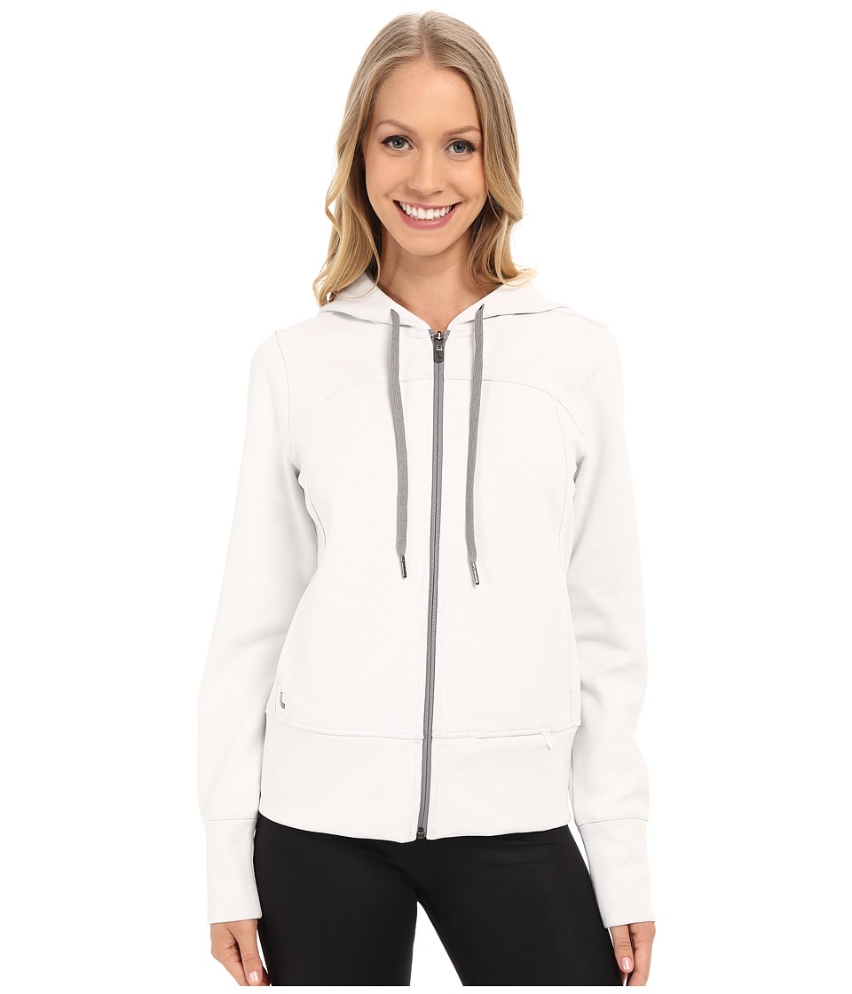 Lole - Unite Cardigan (White) Women's Sweater