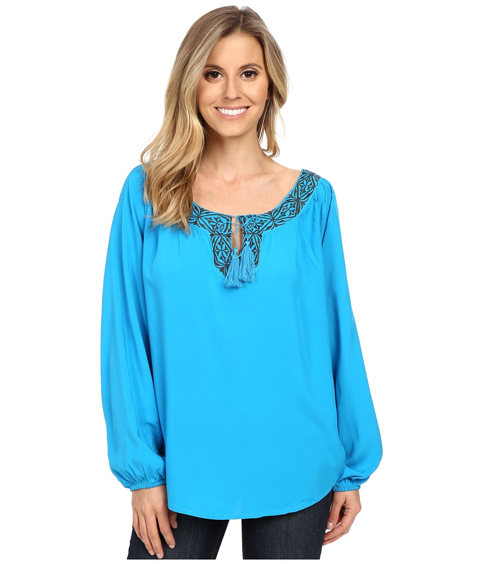 Ariat - Allie Tunic (Deep Aqua) Women's Long Sleeve Pullover