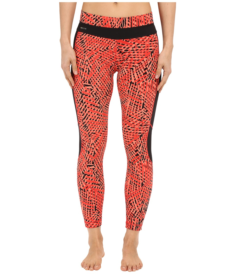 Lole - Eden Leggings (Ruby Foliage) Women's Casual Pants