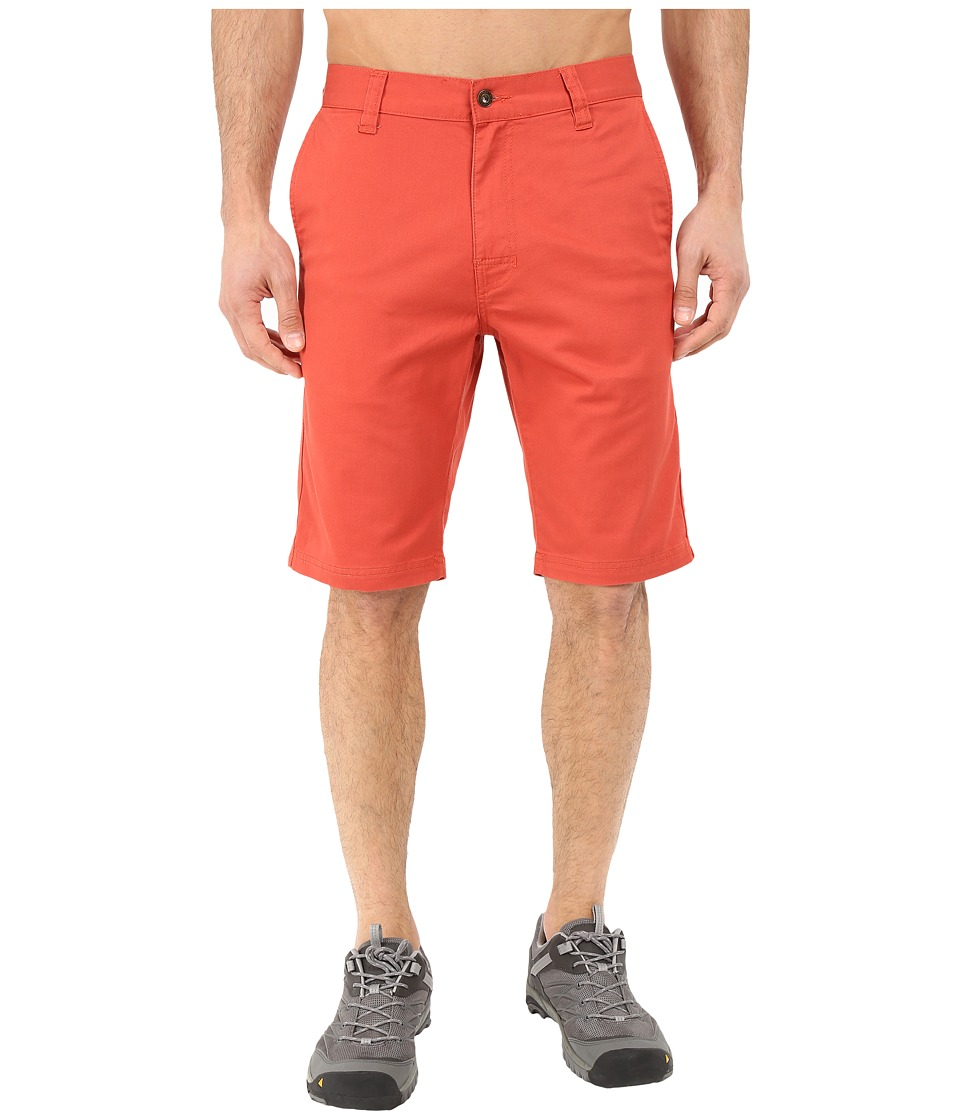 Prana - Table Rock Chino Shorts (Red Clay) Men's Shorts