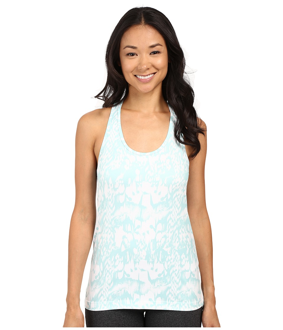 Lole - Fancy Tank Top (Aqua Blue Reflection) Women's Sleeveless