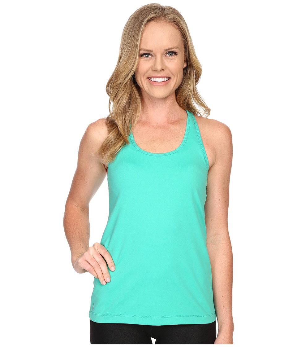 Lole - Fancy Tank Top (Green Tropic) Women's Sleeveless