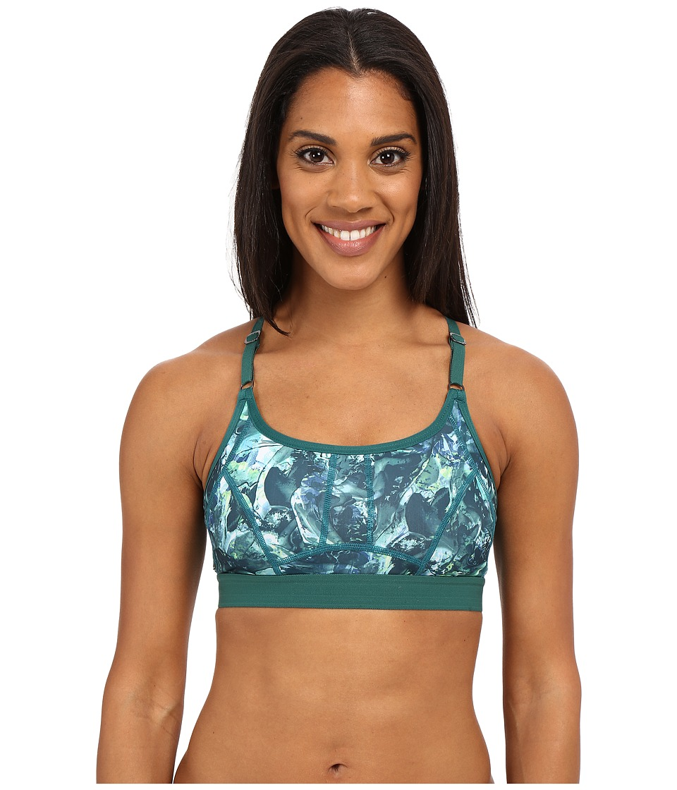 Lole - Alpine Bra (Green Tropic Moving Sand) Women's Bra