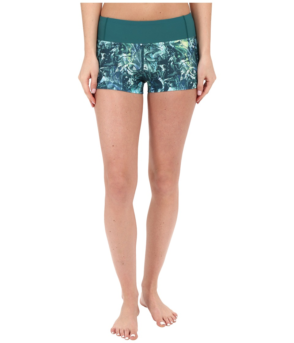 Lole - Courtney Shorts (Green Tropic Moving Sand) Women's Shorts