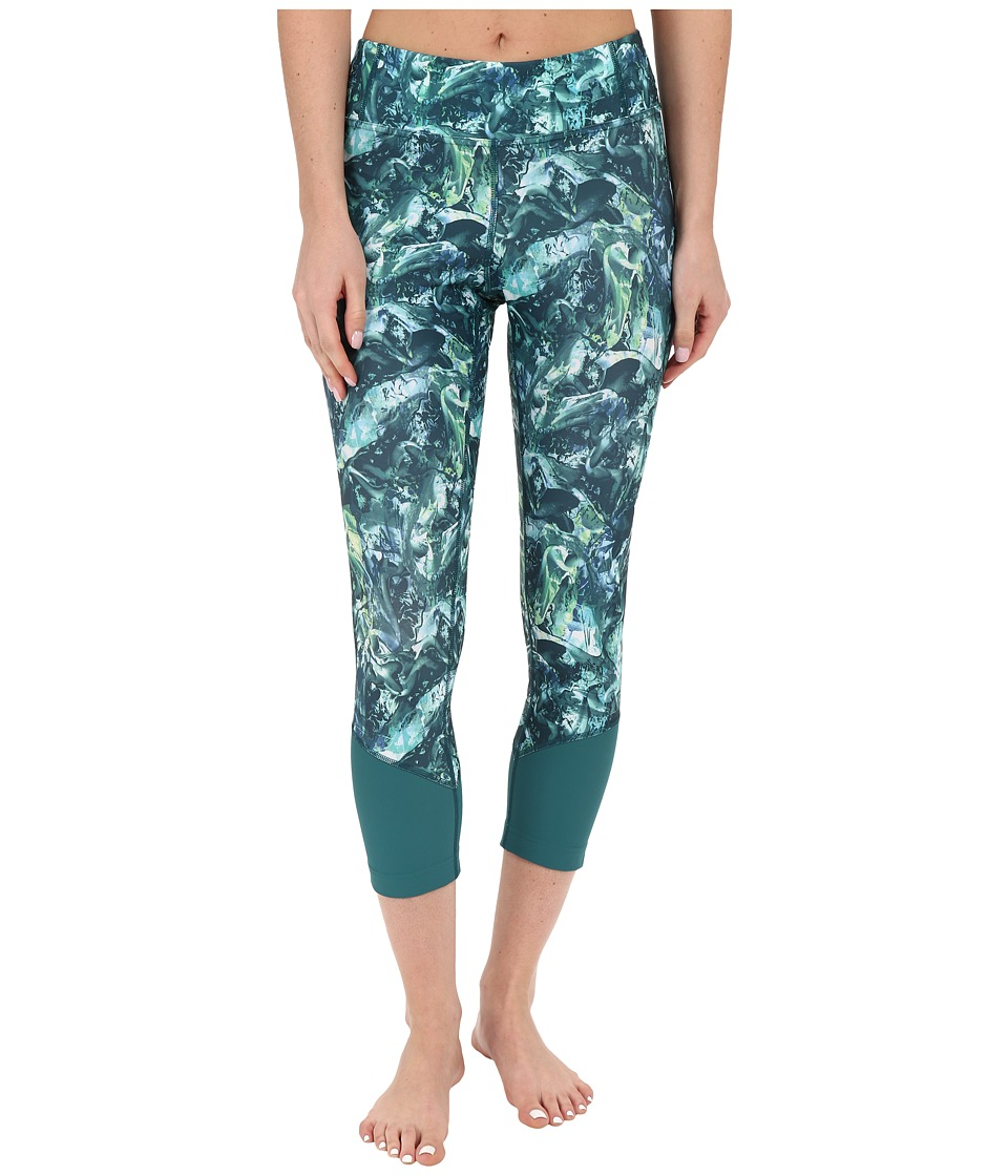 Lole - Chelsea Capris (Green Tropic Moving Sand) Women's Capri