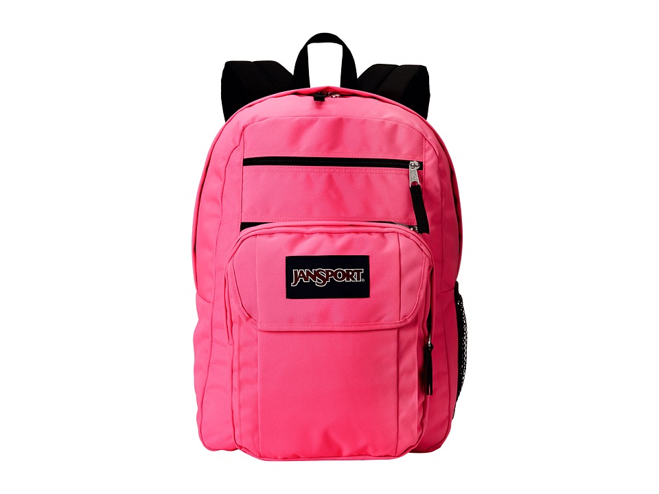 JanSport - Digital Student (Black Kiss Me Quick) Backpack Bags