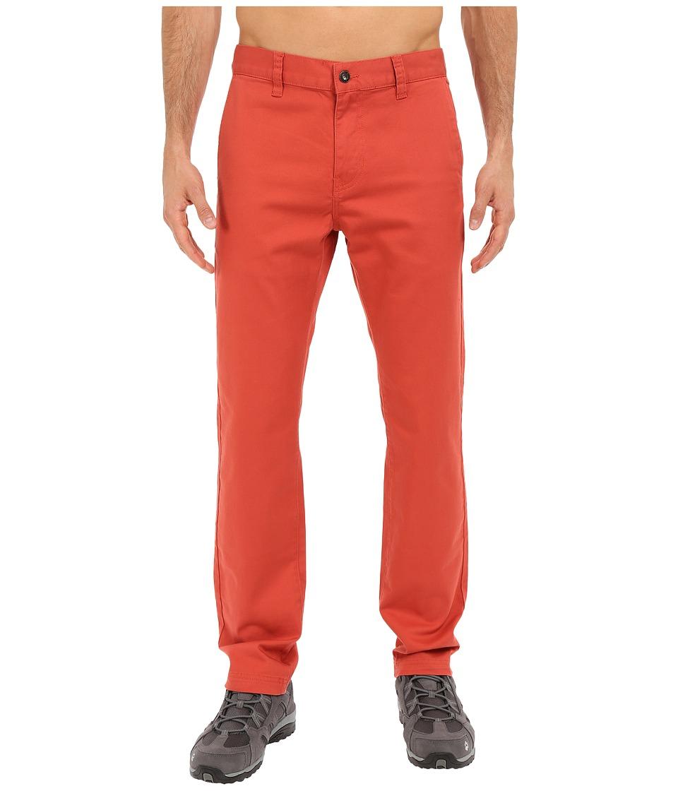 Prana - Table Rock Chino Pants (Red Clay) Men's Casual Pants