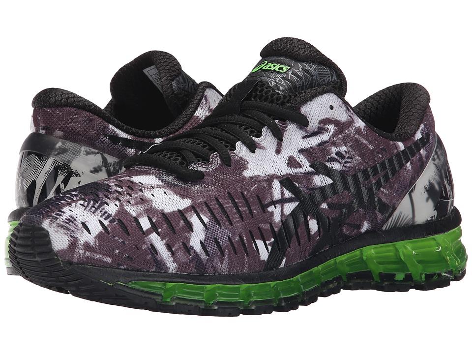 ASICS - GEL-Quantum 360tm (White/Black/Green Gecko) Men's Running Shoes