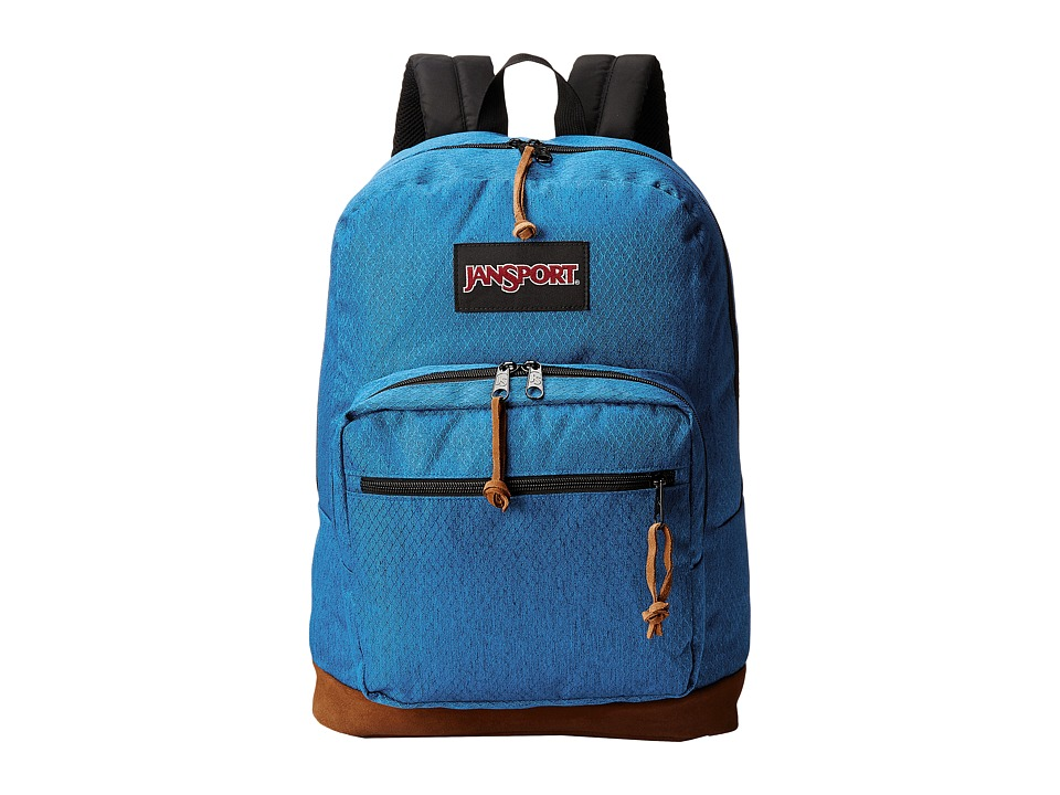 JanSport - Right Pack Digital (Midnight Sky Diamond Ripstop) Backpack Bags