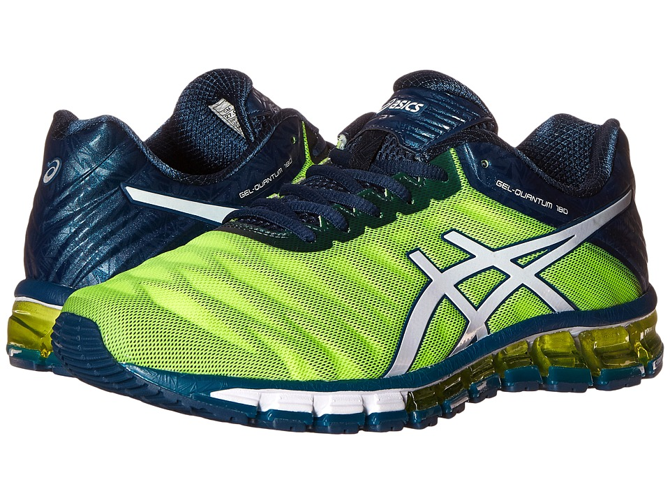 ASICS - GEL-Quantum 180 (Flash Yellow/White/Ink) Men's Running Shoes