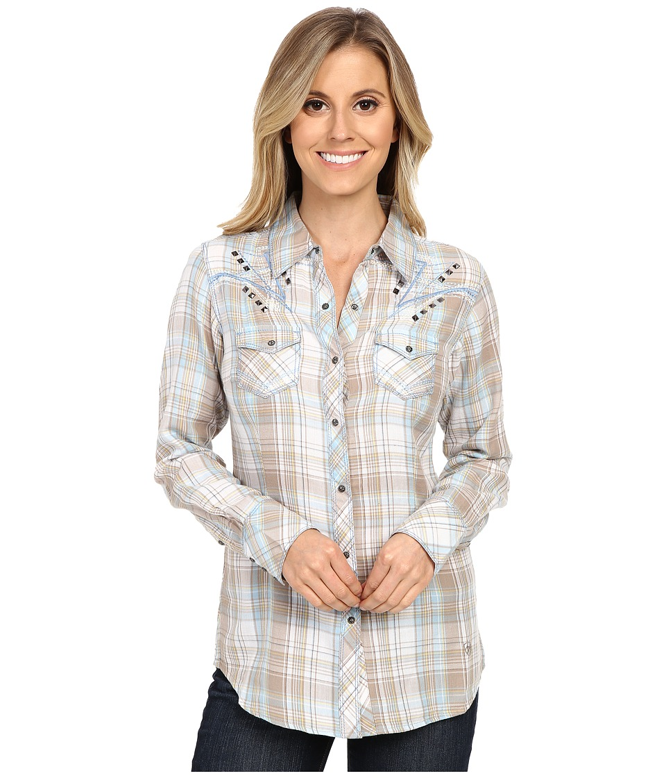 Ariat - Nichols Snap Shirt (Satellite) Women's Long Sleeve Button Up