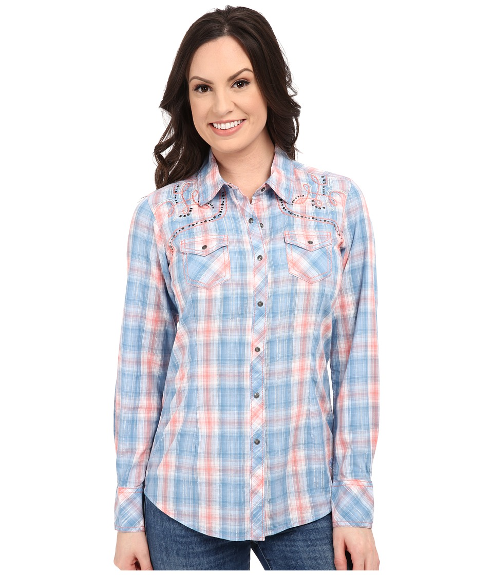 Ariat - Welles Snap Shirt (Multi) Women's Long Sleeve Button Up