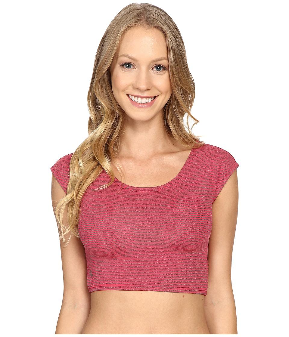 Lole Phoebe Top (Strawberry Pro Stripe) Women