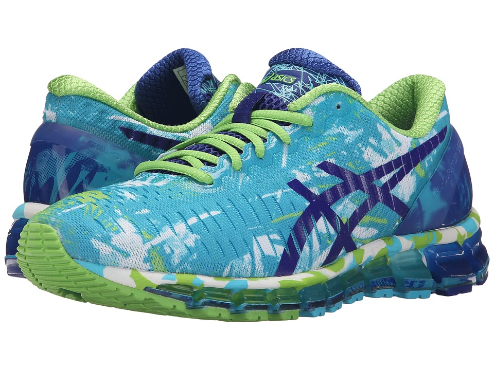ASICS GEL-Quantum 360tm (White/ASICS Blue/Jasmin Green) Women