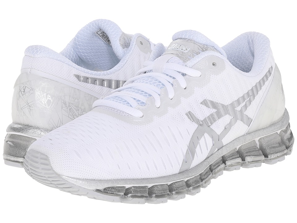 ASICS - GEL-Quantum 360 (White/Lightning/Snow) Women's Running Shoes