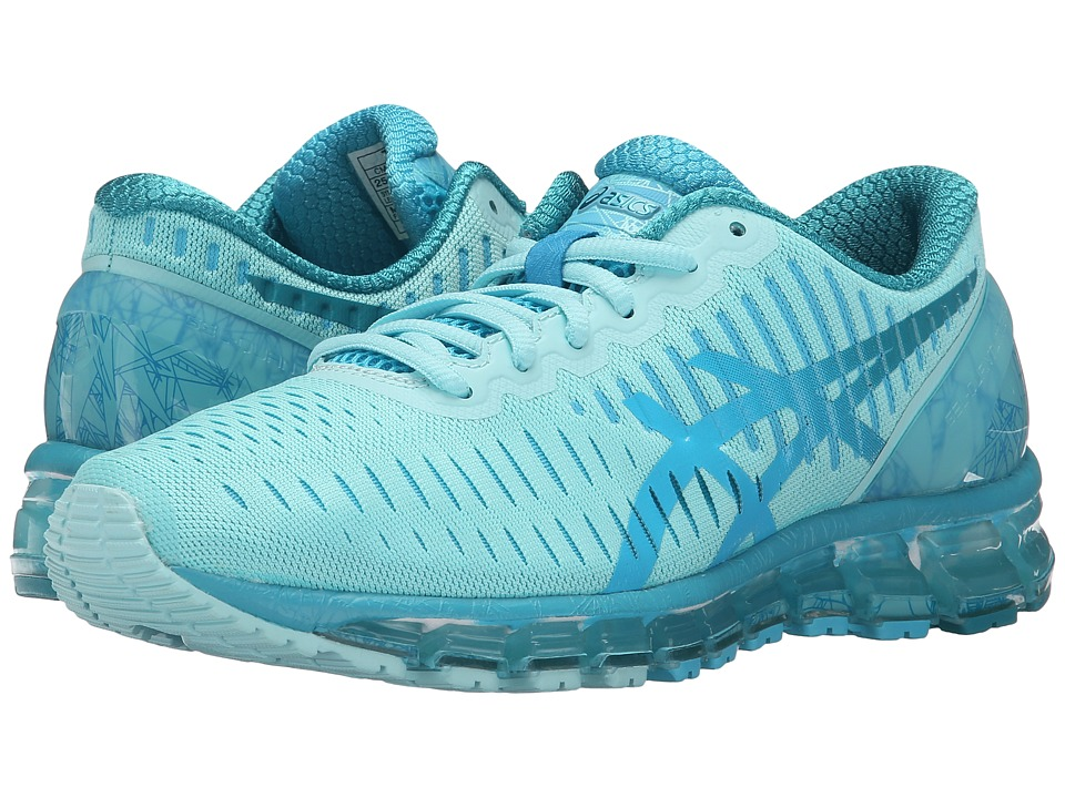 ASICS - GEL-Quantum 360 (Aqua Splash/Turquoise/Tile Blue) Women's Running Shoes