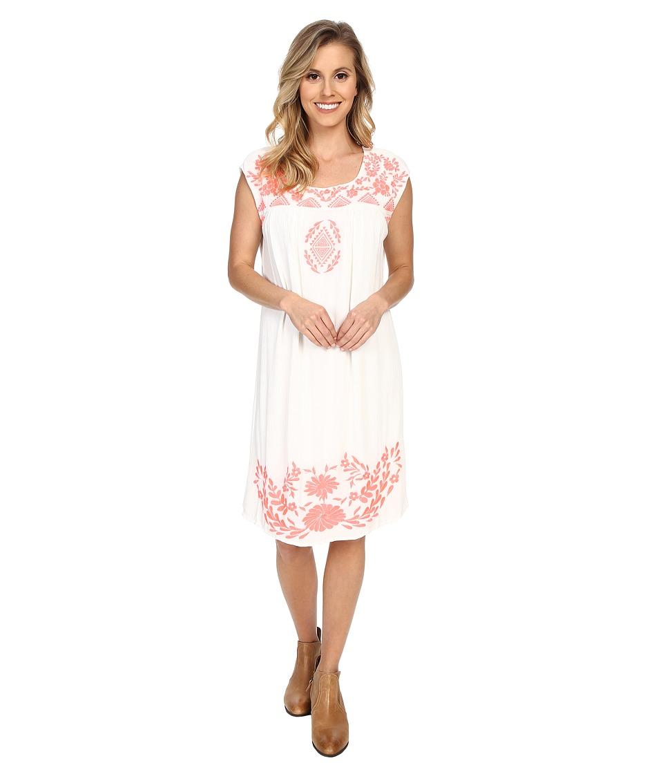 Ariat - Marquette Dress (Whisper White) Women's Dress