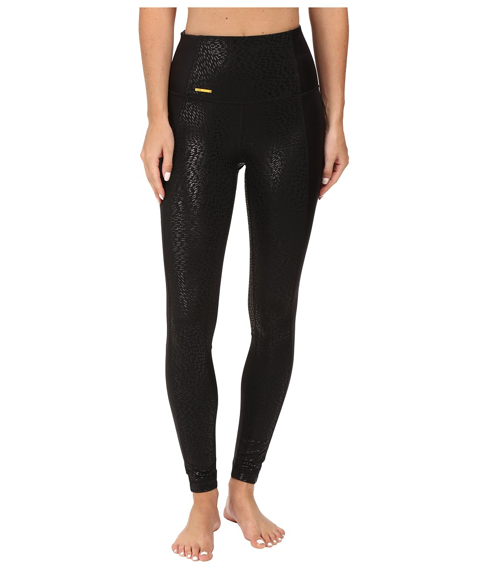 Lole - Ivory Leggings (Black Water Flow) Women's Capri