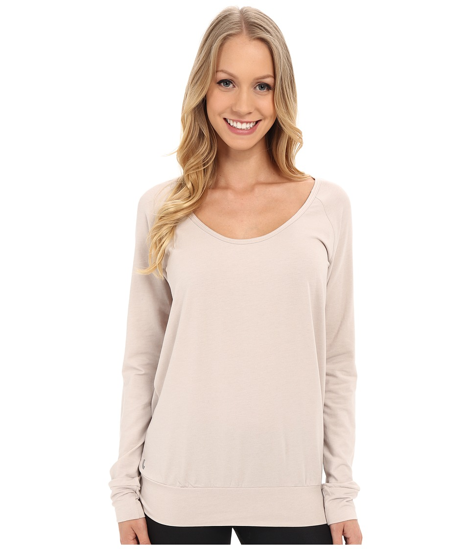 Lole - Orchid Top (Silver Gray) Women's Long Sleeve Pullover