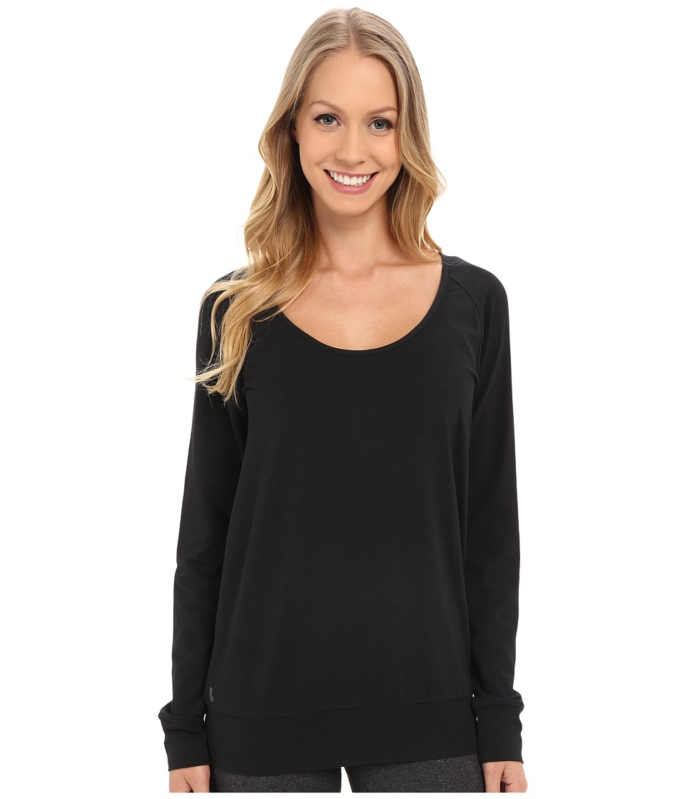 Lole - Orchid Top (Black) Women's Long Sleeve Pullover