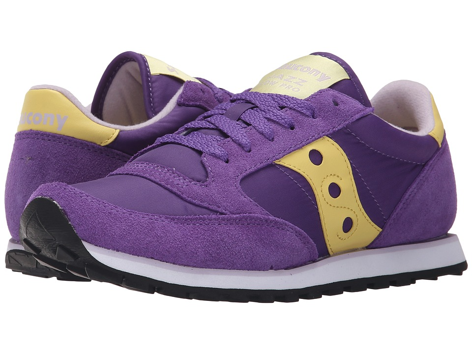 Saucony Originals - Jazz Low Pro (Purple 2) Women's Classic Shoes