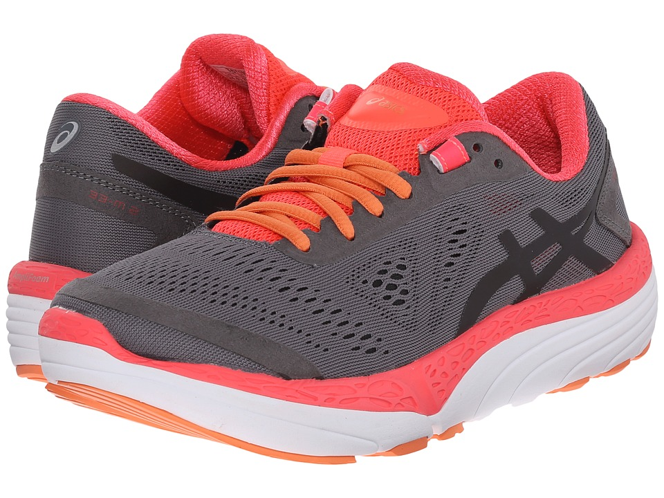 ASICS - 33-Mtm 2 (Titanium/Black/Diva Pink) Women's Running Shoes