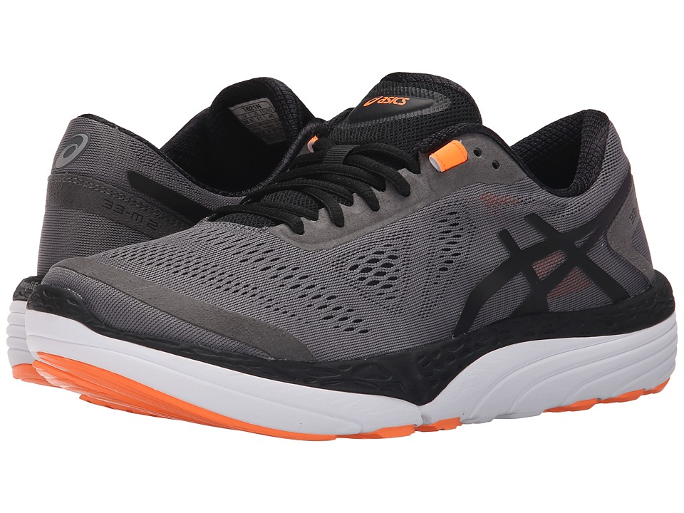 ASICS - 33-M 2 (Carbon/Black/Hot Orange) Men's Running Shoes