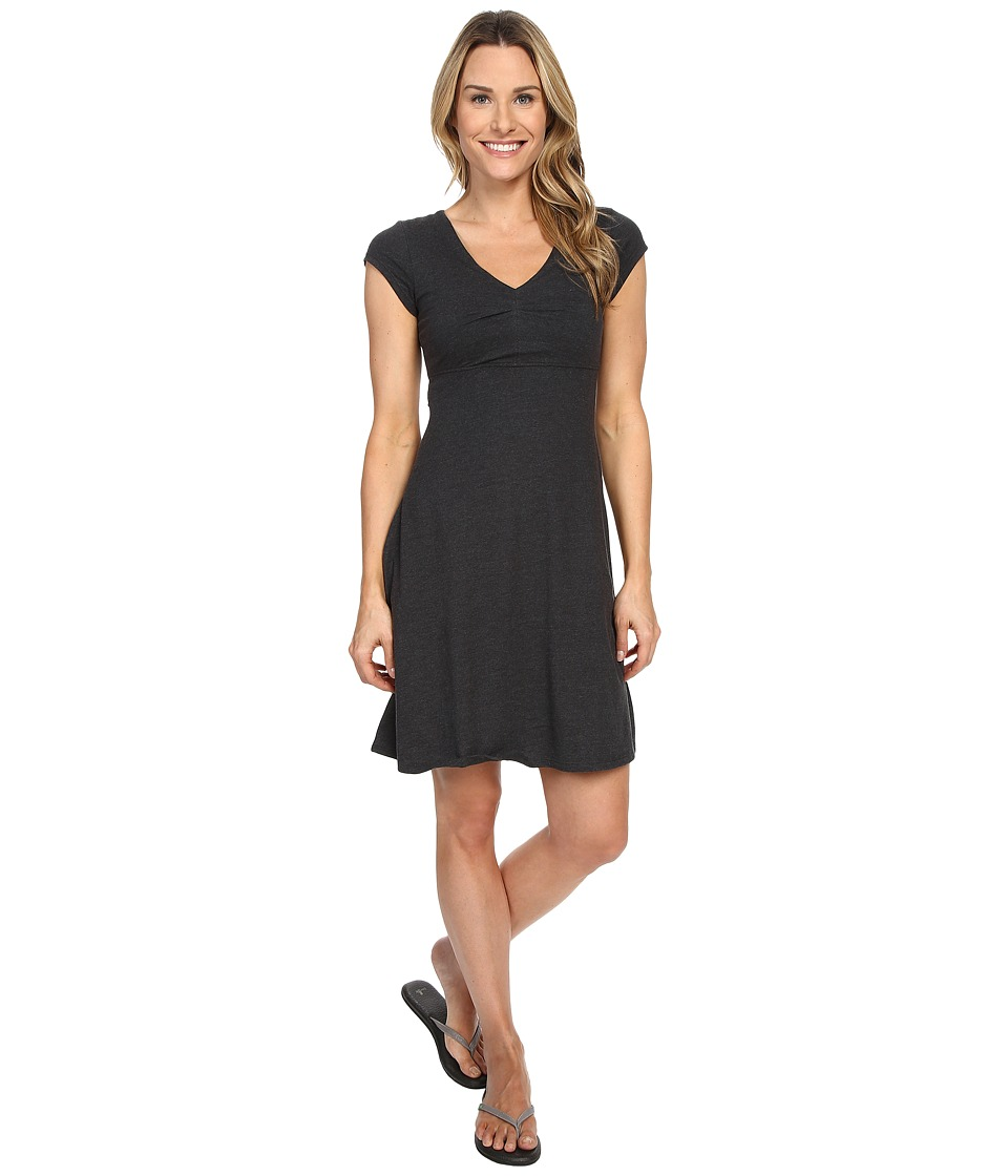 Toad&Co - Rozmonde Short Sleeve Dress (Black Heather) Women's Dress