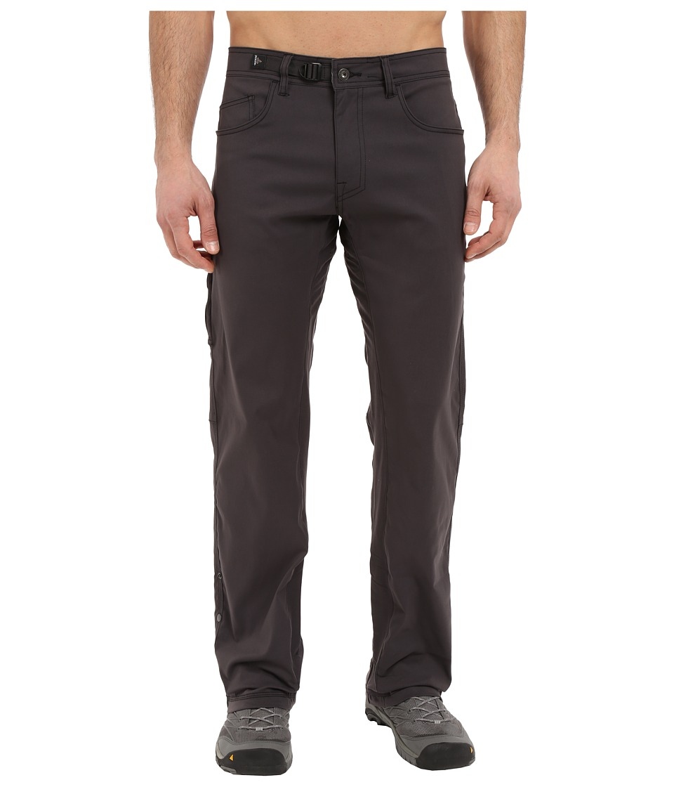 Prana - Zioneer Pants (Charcoal) Men's Clothing