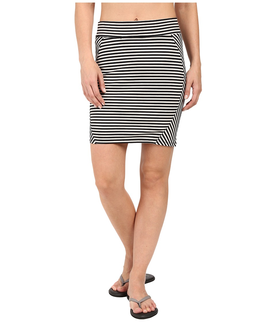 Toad&Co - Transita Skirt (Black Stripe) Women's Skirt