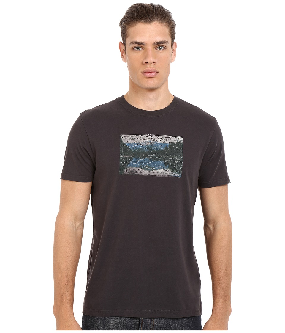 Prana - Lost (Charcoal) Men's T Shirt