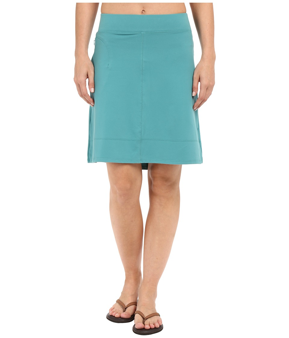 Toad&Co Corsica Skirt (Dark Turquoise) Women