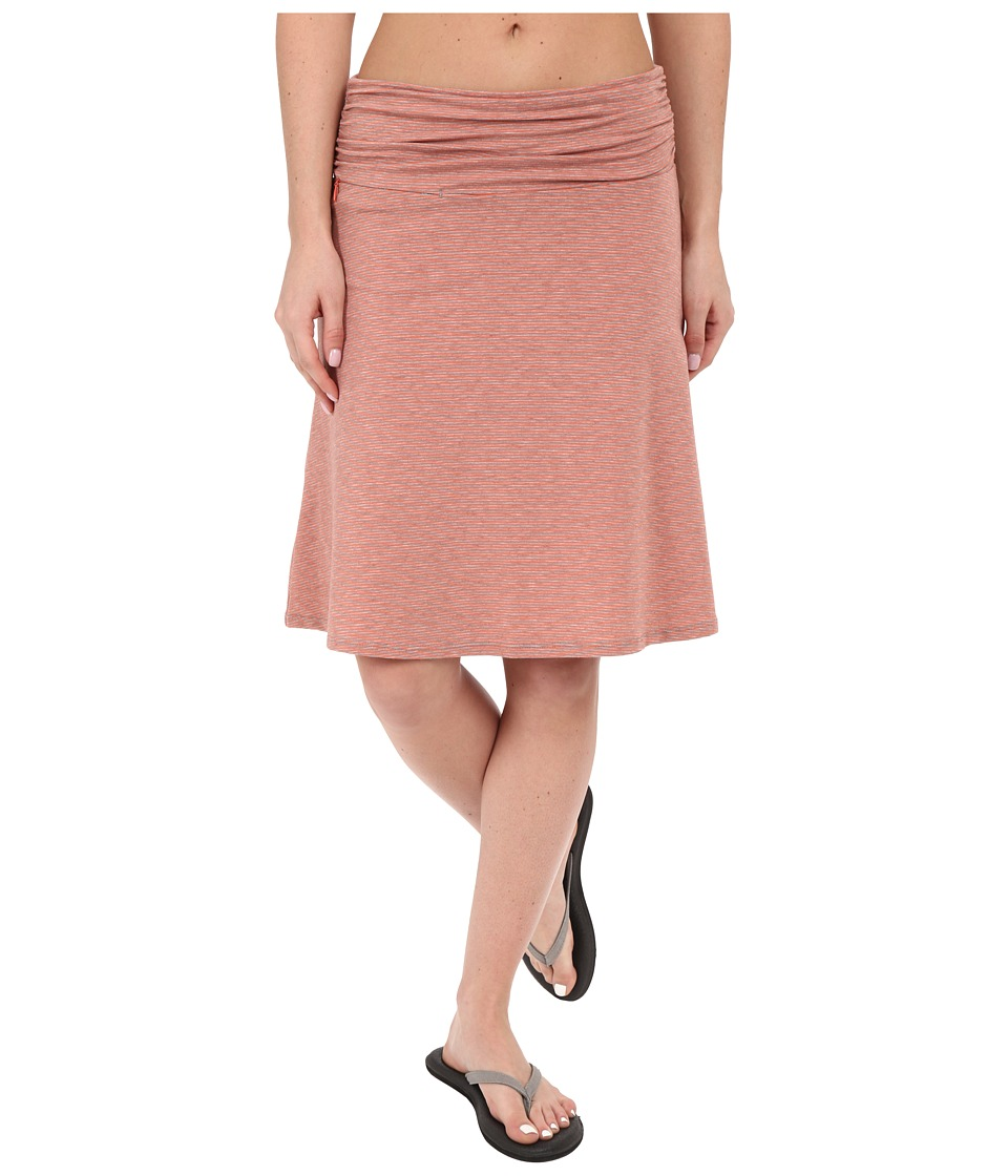 Toad&Co - Swifty Chaka Skirt (Cedar Stripe) Women's Skirt