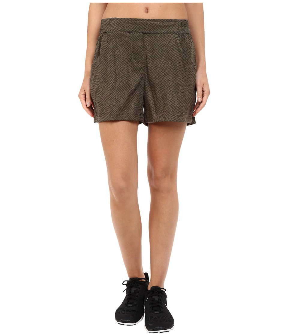 Toad&Co Jetlite Shorts (Falcon Brown Print) Women
