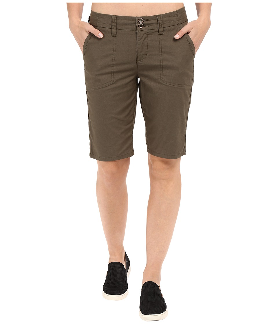 Toad&Co Viatrix Shorts 11 (Dark Moss) Women