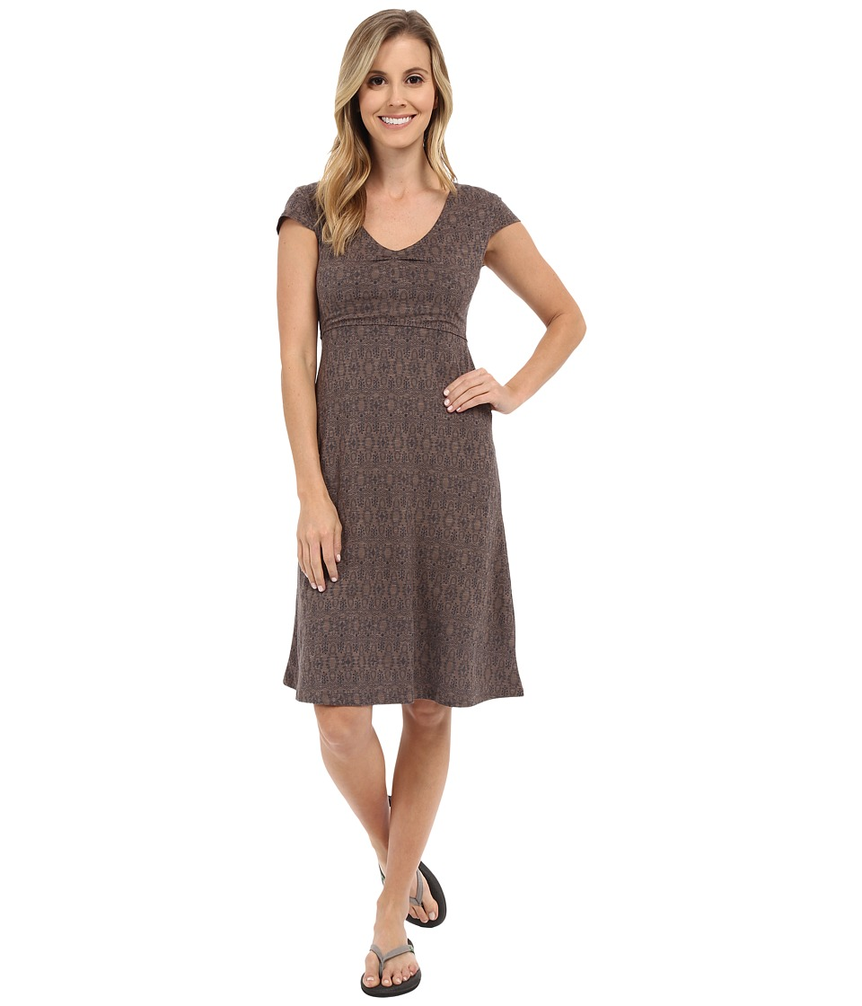 Toad&Co - Rosemarie Dress (Falcon Brown Tapestry) Women's Dress