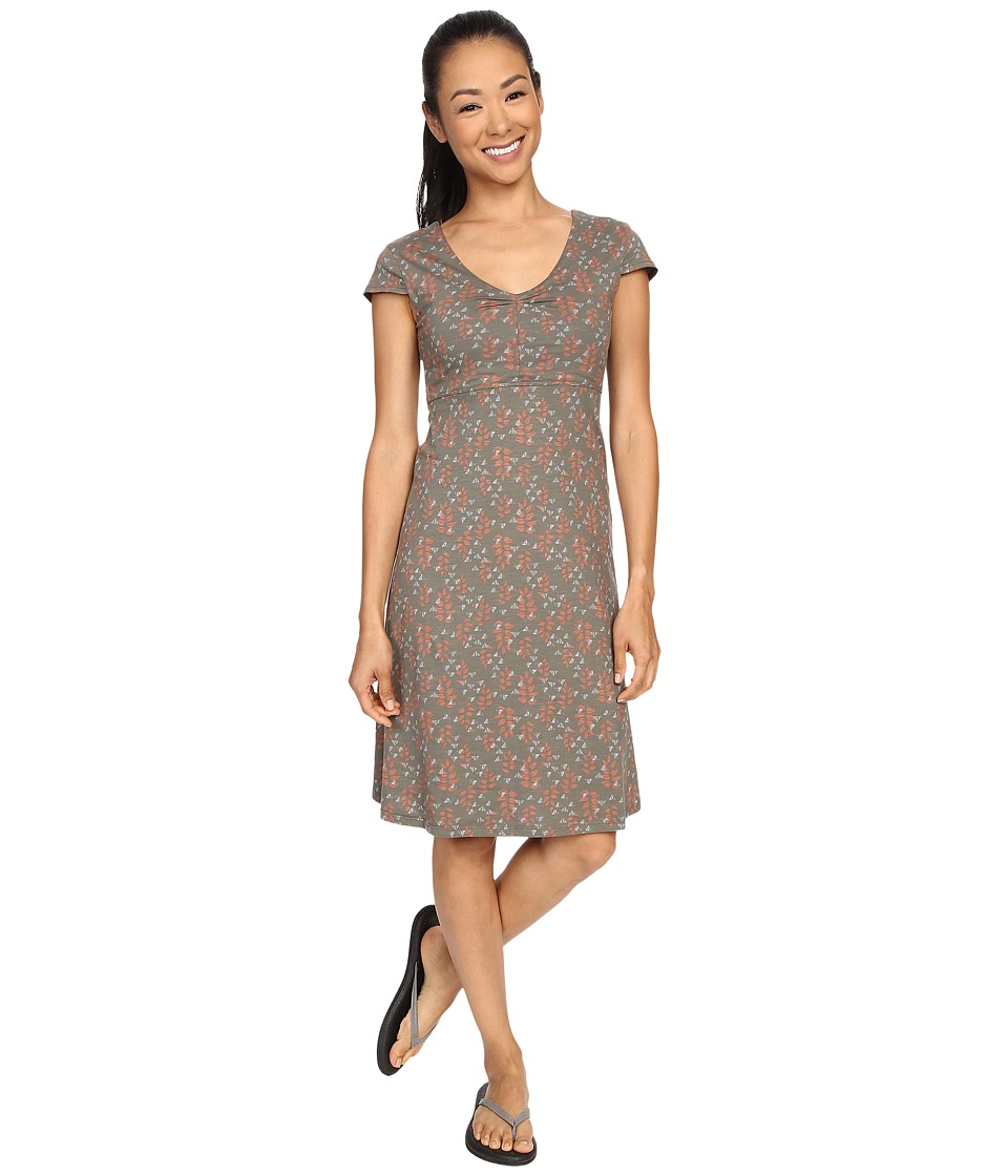Toad&Co - Rosemarie Dress (Dusty Olive Found Forest) Women's Dress