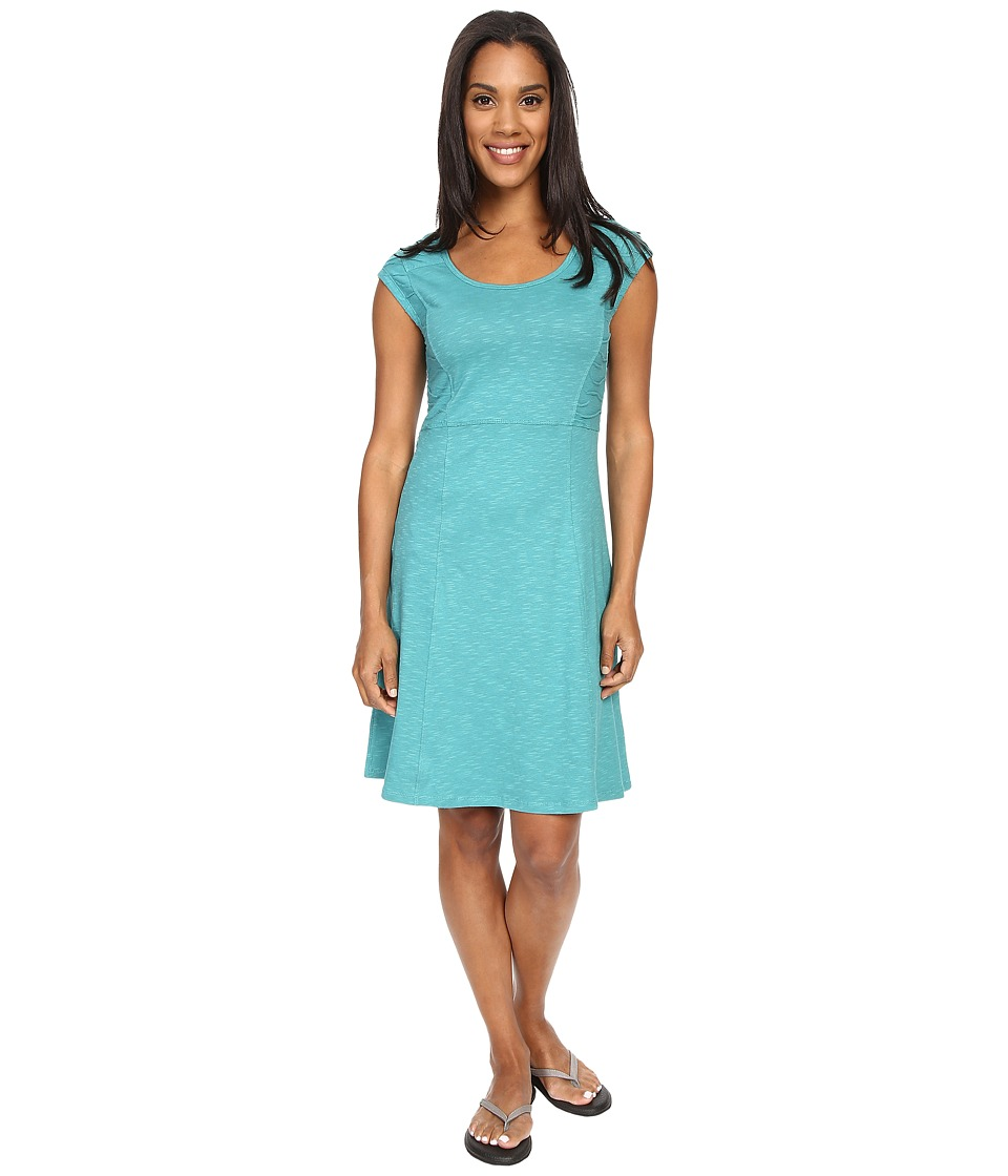 Toad&Co - Sama Sama Dress (Dark Turquoise) Women's Dress