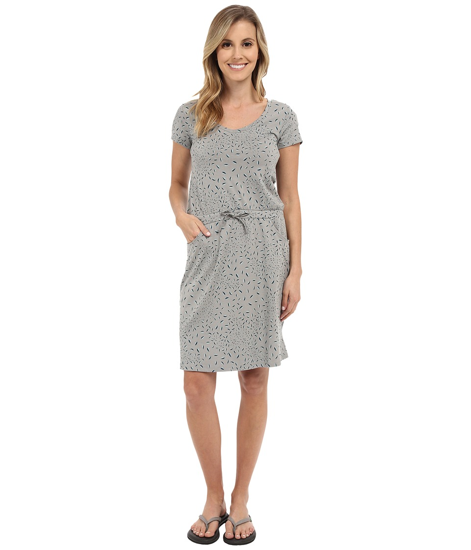 Toad&Co - Tica Dress (Light Ash Leaf Print) Women's Dress
