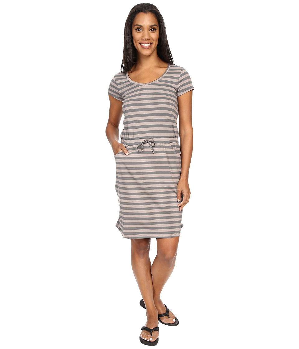 Toad&Co - Tica Dress (Cocoa Stripe) Women's Dress