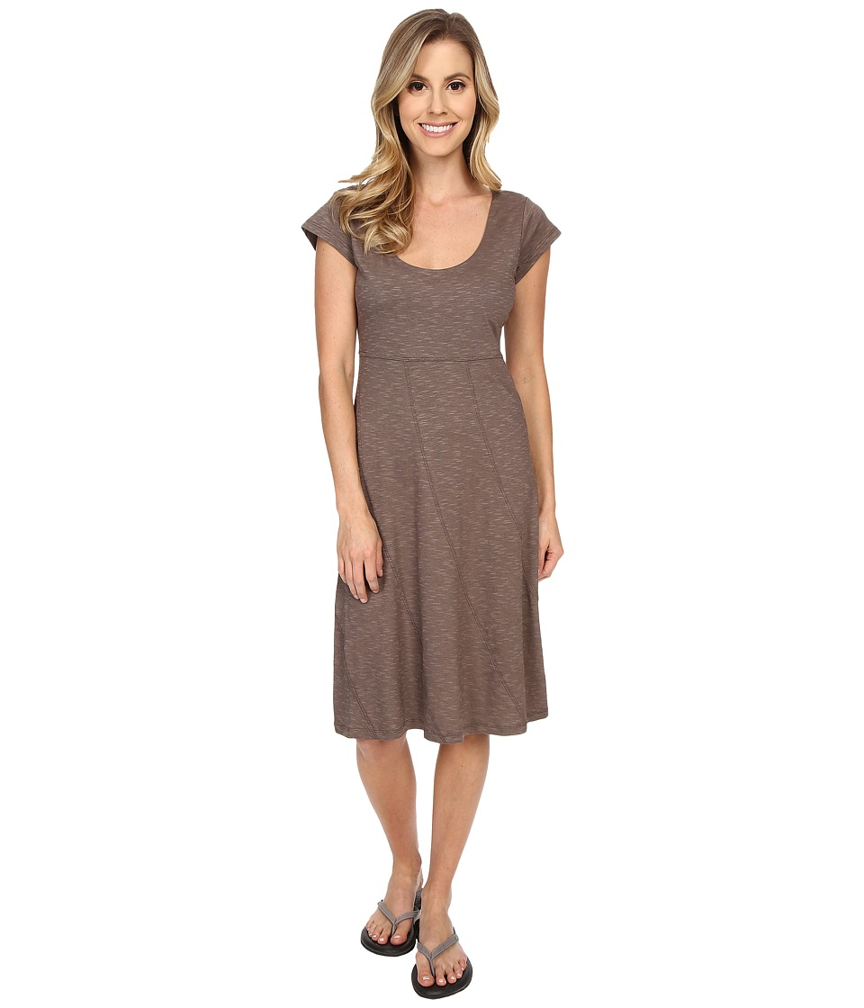 Toad&Co Nena Dress (Falcon Brown) Women