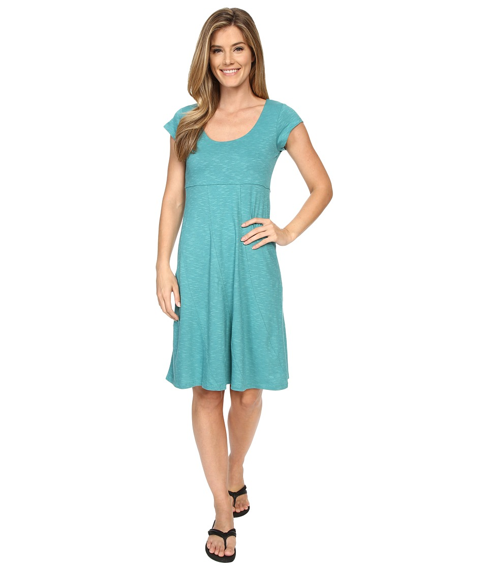 Toad&Co - Nena Dress (Dark Turquoise) Women's Dress