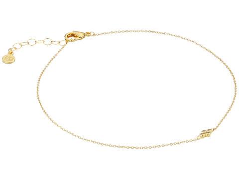 gorjana - Lucia Anklet (Gold) Bracelet