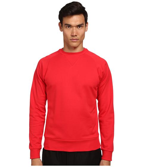 adidas Y-3 by Yohji Yamamoto - Classic Sweatshirt (Roundel Red) Men's Sweatshirt