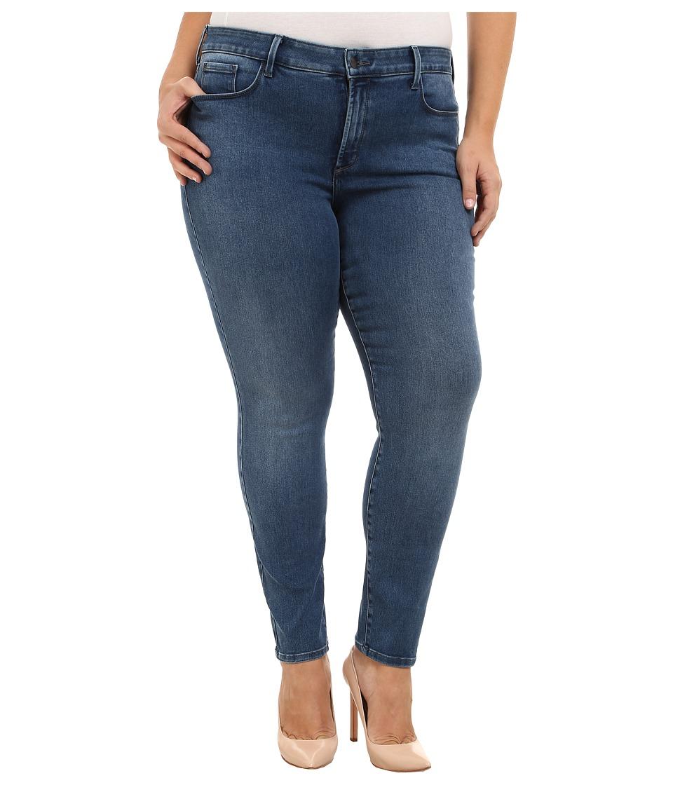 NYDJ Plus Size - Plus Size Alina Leggings (Normandy) Women's Casual Pants plus size,  plus size fashion plus size appare